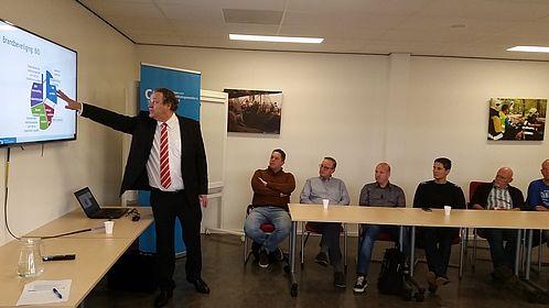 Foto van de informatiebijeenkomst